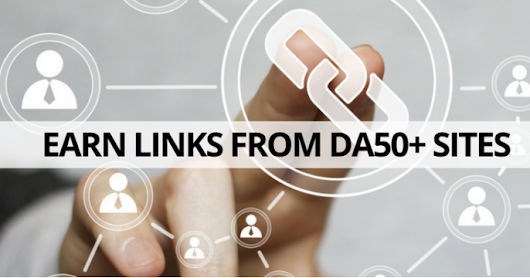 Link building tactics that will earn your site DA50+ links in 30 days | RankWatch Blog