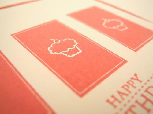 Happy Birthday Cupcake (detail)