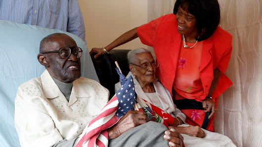 Husband, 108, wife, 105, celebrate 82 years married