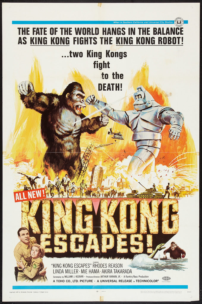 King Kong Escapes (Universal, 1968)