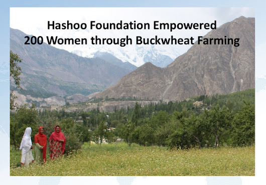 200 Women Empowered Buckwheat Farming in Gilgit-Baltistan