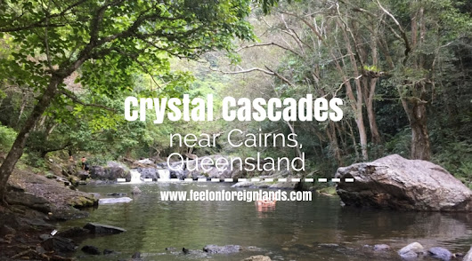 Crystal Cascades, Cairns - a local secret - Feet on Foreign Lands