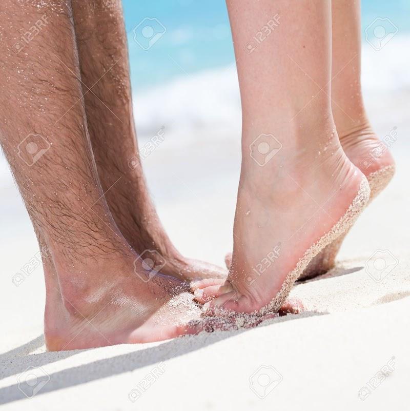 Em pontas dos pés!