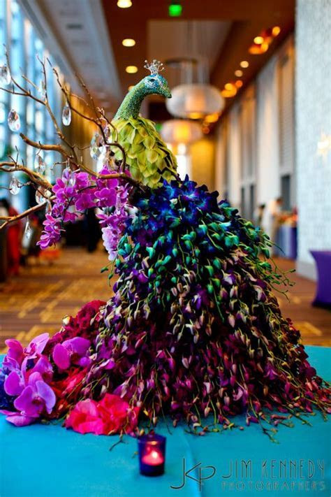 6 Brilliant Ideas for a 'Peacock Theme' for your Sangeet