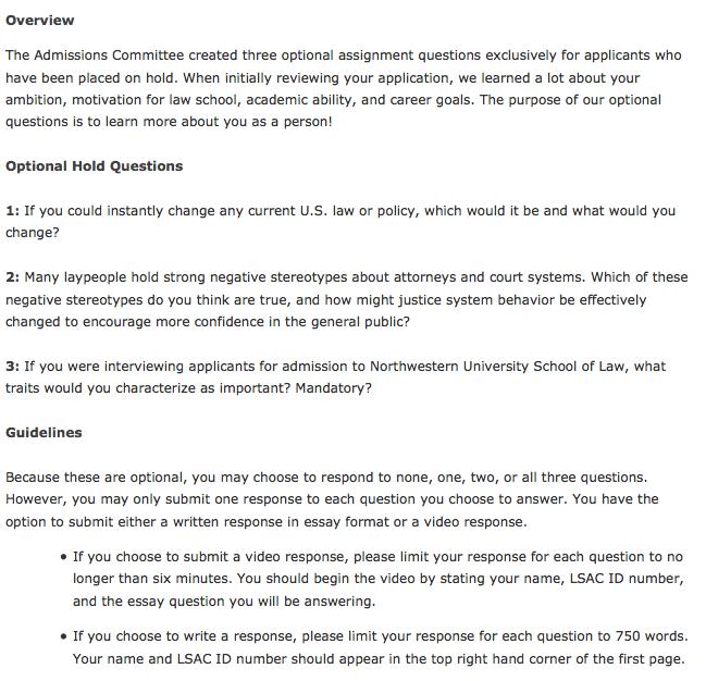 Northwestern law financial aid essays boe bot homework board