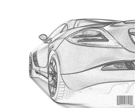 world future dream car car drawing