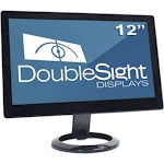 Doublesight Displays 12in Smart USB Monitor 1366x768 USB Power/video 3yr TAA
