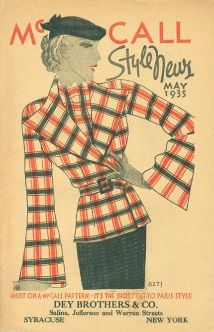 Style Inspirations: 1930s Winter Jackets - Vintage Gal
