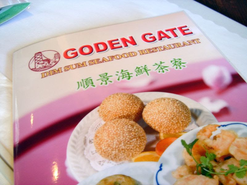 Golden Gate Menu