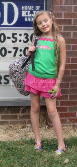 Back to school, FIRST Day of school outfit.....