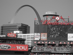 st. louis cardinals stadium and arch