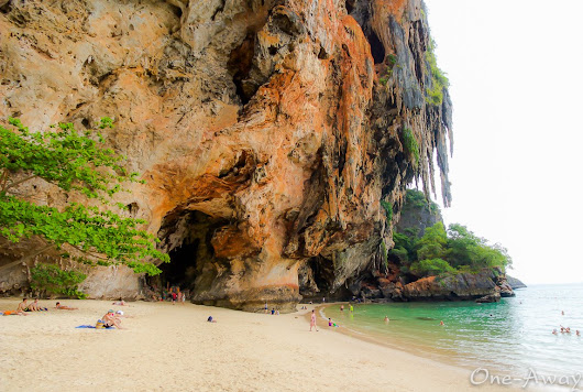 Things to Do in Krabi Thailand: Railay Beach Rock Climbing and Phra Nang Cave Beach |