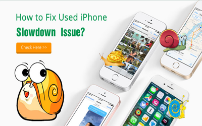 How to Fix Old iPhone Slowdown Issue?