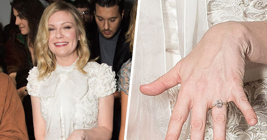 Kirsten Dunst's Engagement Ring May Have Cost $80,000
