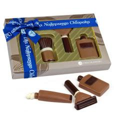 czekoladowy zestaw do golenia dla chłopaka od chocolissimo