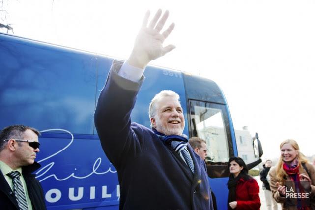 Le Parti libéral du Québec, tout comme le... (PHOTO MARCO CAMPANOZZI, ARCHIVES LA PRESSE)