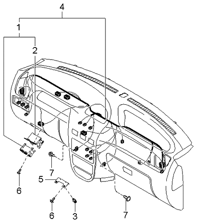 2004 Kia Rio Engine Diagram