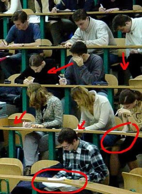 how to cheat test