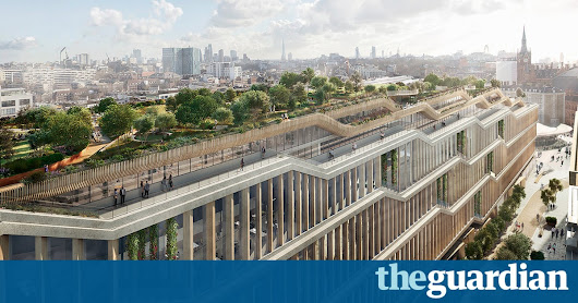 Google submits plans for 1m sq ft 'landscraper' London headquarters | Technology | The Guardian