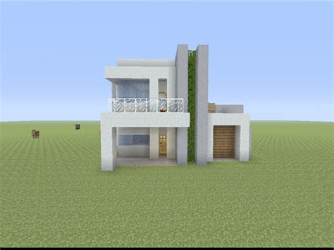 minecraft small modern house designs small modern house
