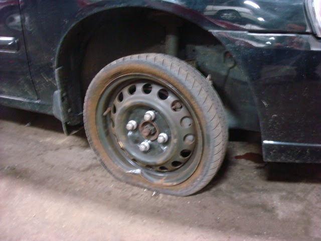 Surprise You Have Got A Flat Tire Only To Find Out Your Spare Tire Is Flat Too Joe Boulay