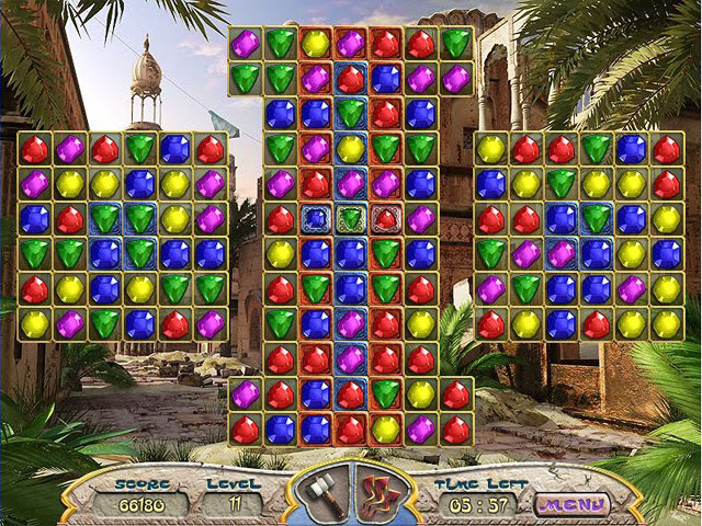 Ancient Jewels The Mysteries Of Persia Free Download Match3 Puzzle Game Play Online Matching Games
