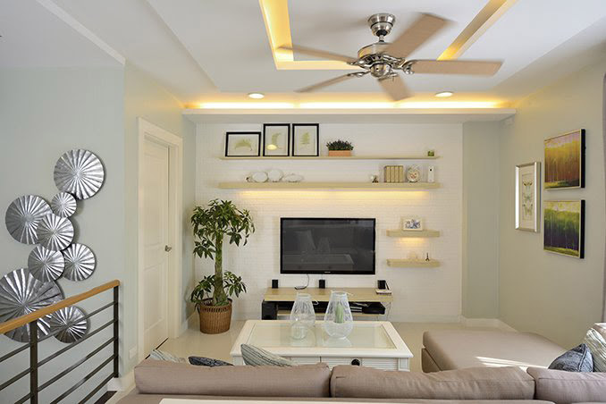 Wall Design For Living Room Philippines Paulbabbitt Com