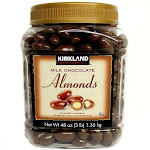 Kirkland Signature Milk Chocolate Almonds, 48-Ounces