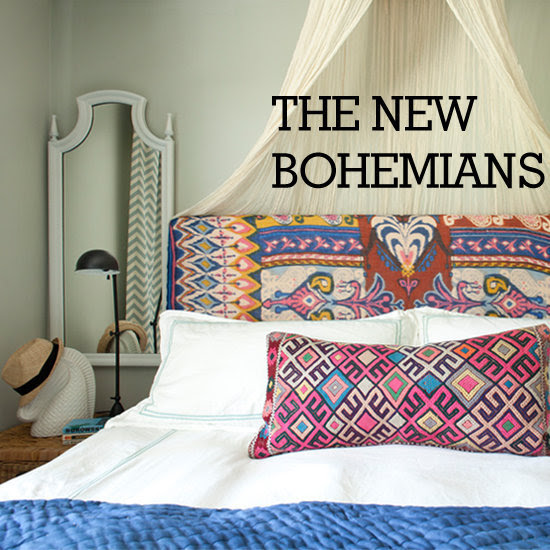 Bohemian Home Decor and Rachel Zoe's Tiffany & Co. Window Displays