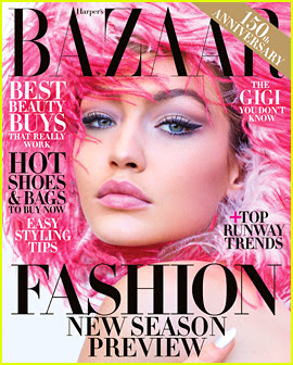 Gigi Hadid Goes to Space for New 'Harper's Bazaar' Cover!