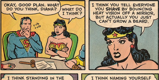 When Wonder Woman Tells the Truth [Comic]