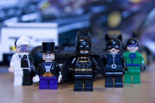 bat-craze:  good vs bad (by Tim & Sam's Flickr)