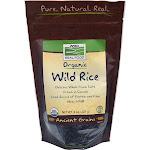 Now Foods Organic Wild Rice - 8 oz bag