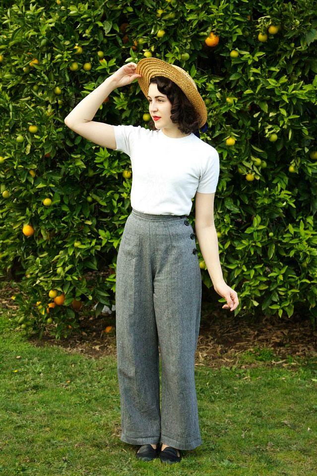 1940's Swing Trousers