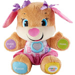 Fisher-Price - Laugh & Learn Smart Stages Sis Plush Toy - Brown