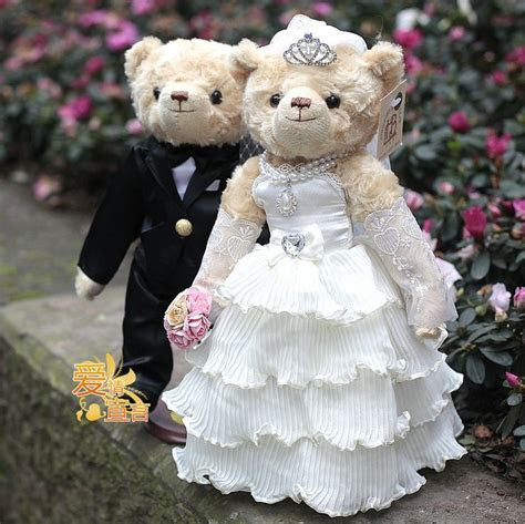 Wedding Teddy Bears   Quality Wedding Teddy Bear ,movable