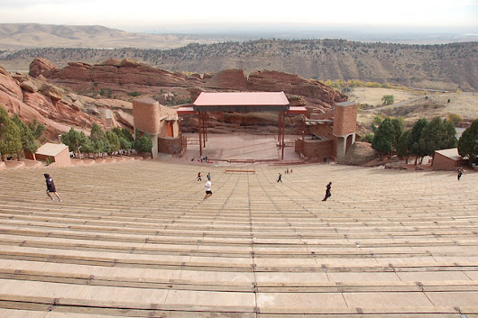 Fitness buffs galore at Red Rocks