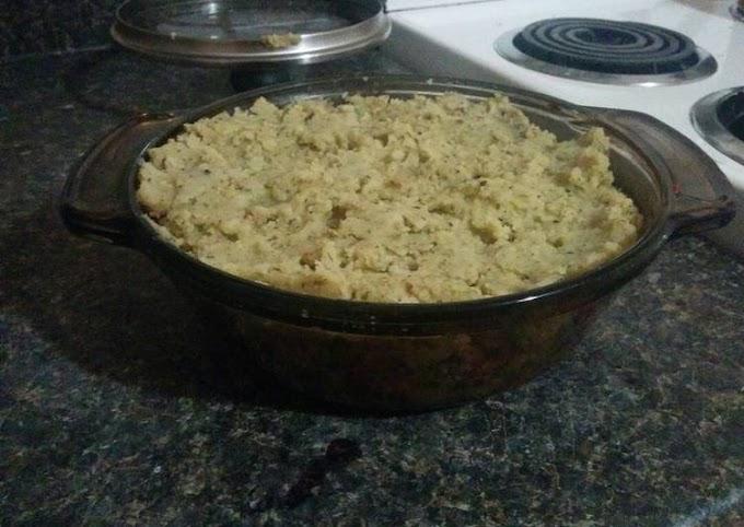 Recipe: Tasty Healthy Shepard's Pie