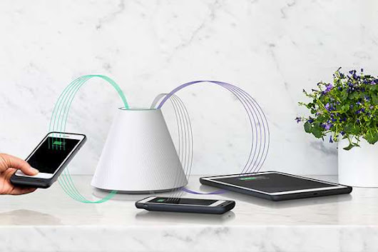 Charger that could wirelessly recharge your phone and tablet at once?