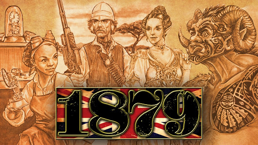Steampunk Fridays – Kickstart the Game- 1879 London Adventure and Sourcebook