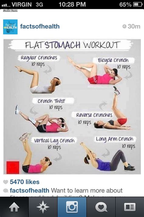flat stomach workout start today    results