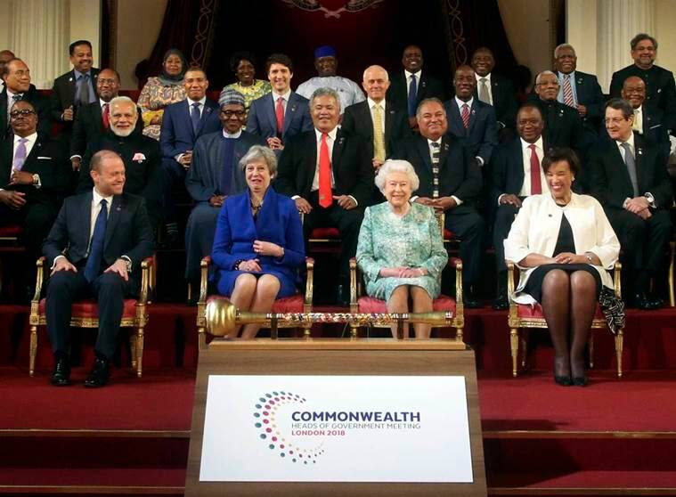 commonwealth meet, british commonwealth, common wealth nations, indian independence, modi in uk, indian express