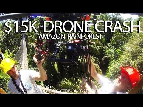$15,000 Camera Drone Disappears in the Amazon Rain Forest - DSLR Video Shooter