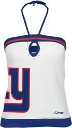 New York Giants Women's White/Blue Free Tu Be Tube Top