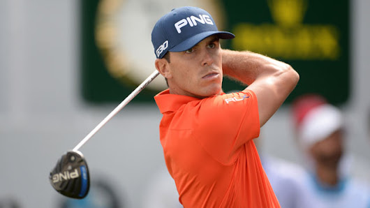 Horschel uses wood after accidentally breaking putter - Bahle Farms