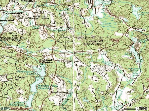 Ledyard Ct Map