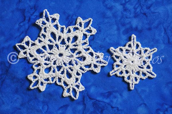 Six Zeroes Snowflakes