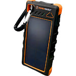 Mizco Tough Tested TTPBWSW16 1600 mAh Solar Battery Recharge with Dual USB Charger
