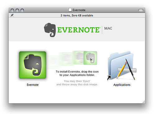 Evernote by Patrick Haney.
