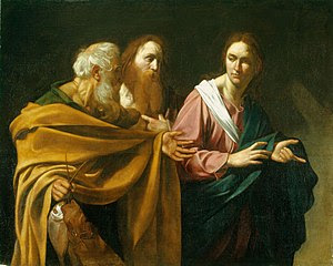 Caravaggio - The Calling of Saints Peter and A...